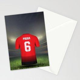 Football Shirt Pogba 6 Stationery Cards