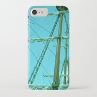 sailboat iPhone & iPod Cases featuring sailboat by Vickn
