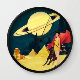 Yellow Summit Wall Clock