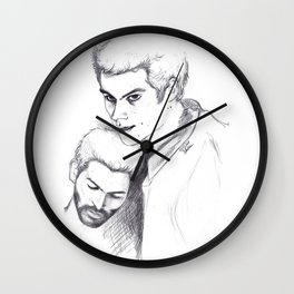 Proteccc Wall Clock