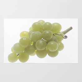 White Grapes  Rug