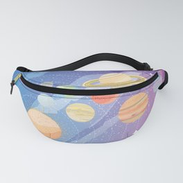 Space Planets Fanny Pack