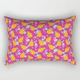 Funny Pineapples 4 Rectangular Pillow