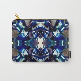 Blue Hydrangea Reflection Carry-All Pouch