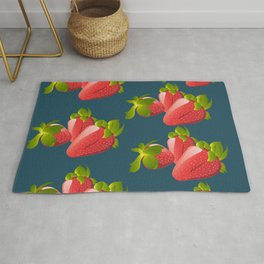 Strawberry Pattern Rug