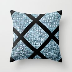 Windowpane Throw Pillow