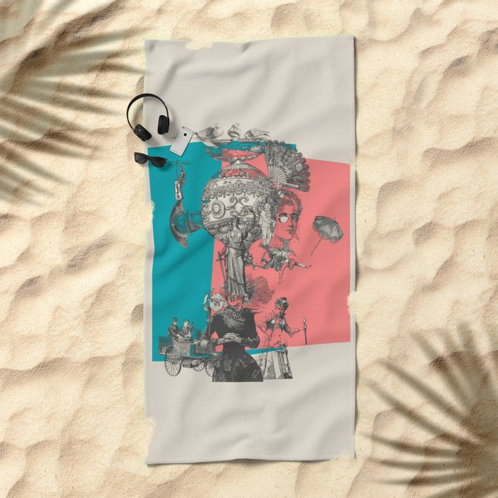 Up Up and Away Beach Towel