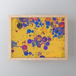 Vibrant Multi Color Abstract Design Framed Mini Art Print