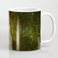 forrest Mugs featuring Forrest by Mariana Biller