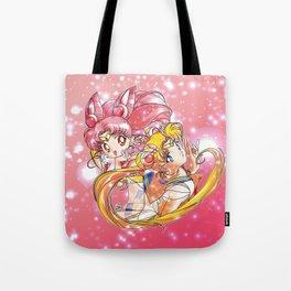 Super Sailor Moon & Chibi Moon (edit 2/A) Tote Bag