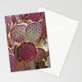 Purple Cactus Stationery Cards