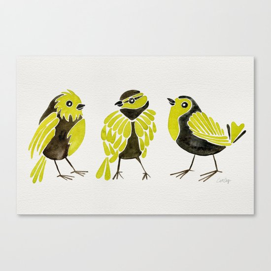 Goldfinches Canvas Print