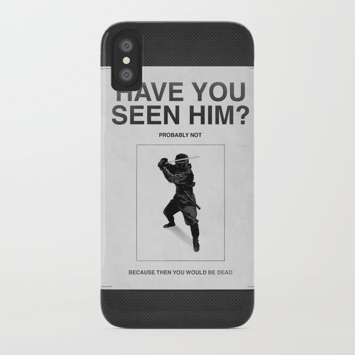 Have you seen him? iPhone Case
