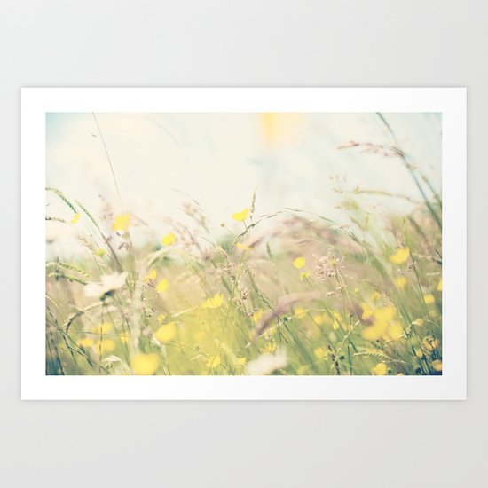 lazy hazy summer days ...  Art Print