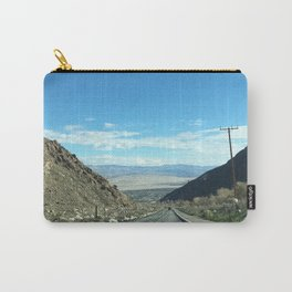 Mountain Road in Palm Springs California Carry-All Pouch