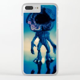 """Searching for its next victim"" Clear iPhone Case"