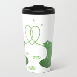 love frogs edition  Travel Mug