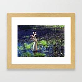 Puddle Framed Art Print