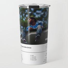 J. Cole - 2014 Forest Hills Drive - Album Art Hip Hop  Travel Mug