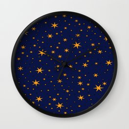 Ravenclaw Chapter Stars Wall Clock