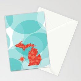 Mod Michigan Stationery Cards