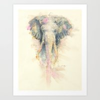 "ellie goulding Art Prints featuring ""Ellie"" by PaintedBunting"