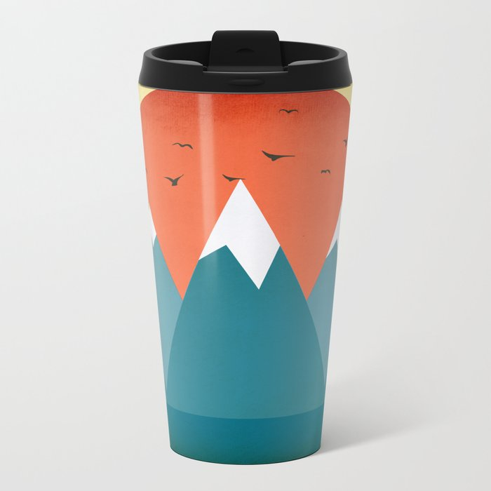 Today dusk Metal Travel Mug