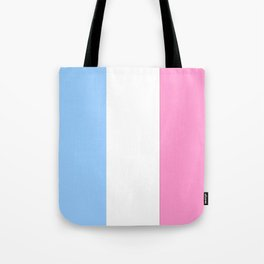 Parody of the french flag 2 -France,Paris, pink, Marseille, lyon, Bordeaux,love, girly,fun,idyll,Nic Tote Bag