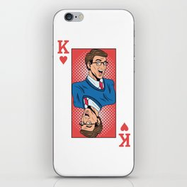 King Pop Art iPhone Skin