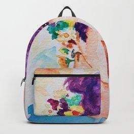 Jungkook et les fleurs Backpack