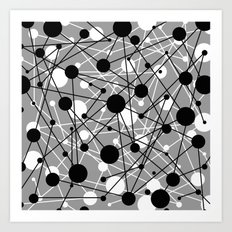 Molecular Madness Art Print