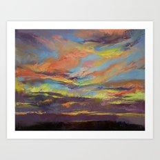Atahualpa Sunset Art Print