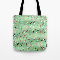 mexico Tote Bags featuring Mexico by Camille Hermant
