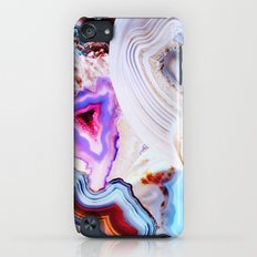 Agate, a vivid Metamorphic rock on Fire iPod touch Slim Case