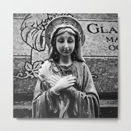 Pray for our sins Metal Print