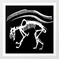 Sabretooth Art Print