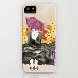 Lady Siri iPhone Case