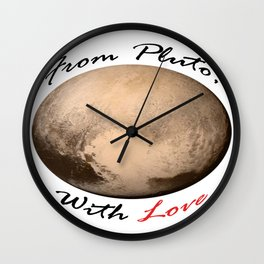 From Pluto Wall Clock