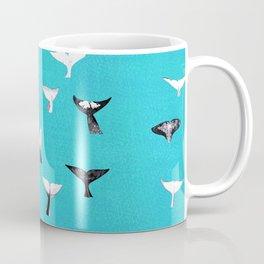 Whale Fluke Pattern Coffee Mug