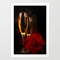 romance Art Prints featuring Romance by ThePhotoGuyDarren