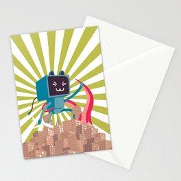 Go Go Mecha Kitty Stationery Cards