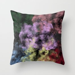 Smoke Bomb Throw Pillow