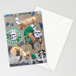 cool dudes Stationery Cards
