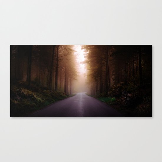 Where are you Canvas Print