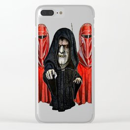 Guarding The Emperor T-Shirt Clear iPhone Case