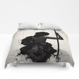 Female Samurai - Onna Bugeisha Comforters