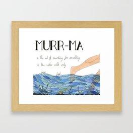 Murr-ma Framed Art Print