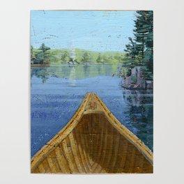 canoe bow Poster