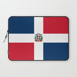 Flag of the dominican republic Laptop Sleeve