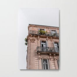 French architecture Metal Print